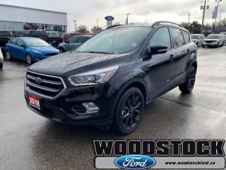 Used 2018 Ford Escape Titanium  Ford Company Car, Low Kms for sale in Woodstock, ON