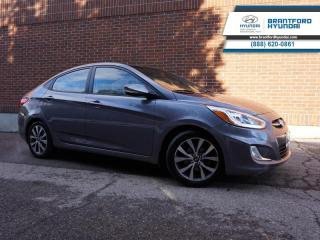 Used 2016 Hyundai Accent GLS  - Local - Trade-in - One owner - $101 B/W for sale in Brantford, ON