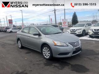 Used 2013 Nissan Sentra GREY  - $69 B/W - Low Mileage for sale in Ottawa, ON