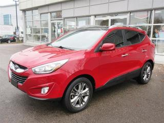 Used 2015 Hyundai Tucson GLS FWD / Dual Sunroof/ heated seats/Bluetooth/Camera/ New year Clear Out Price for sale in Mississauga, ON