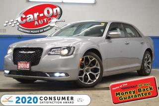 Used 2018 Chrysler 300 S LEATHER REAR CAM HTD SEATS NAV READY for sale in Ottawa, ON