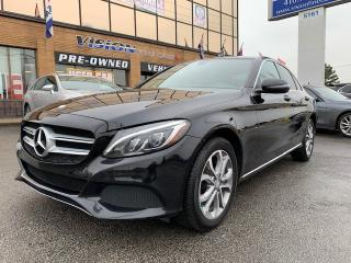 Used 2016 Mercedes-Benz C-Class 4dr Sdn C 300 4MATIC/NAVIGATION/POWER SUNROOF for sale in North York, ON