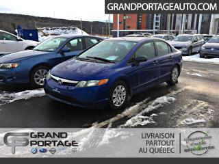 Used 2006 Honda Civic 4 portes DX-G, boîte manuelle for sale in Rivière-Du-Loup, QC