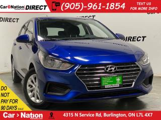 Used 2019 Hyundai Accent 5-Door Preferred| APPLE CARPLAY & ANDROID| for sale in Burlington, ON