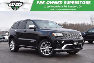 Used 2014 Jeep Grand Cherokee Summit - New Tires, EcoDiesel, GPS for sale in London, ON