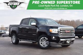 Used 2017 GMC Canyon SLT - One Owner, Top of the Line, Tonneau Cover for sale in London, ON