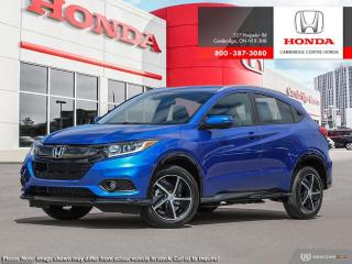 New 2020 Honda HR-V Sport SPORT 4WD for sale in Cambridge, ON