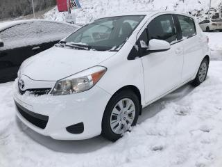Used 2014 Toyota Yaris Hayon 5 portes, boîte manuelle, LE for sale in Val-David, QC