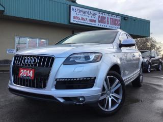 Used 2014 Audi Q7 3.0T Technik NAVI|SUNROOF|REVRESE CAMERA| LOADED| CERTIFIED for sale in Bolton, ON