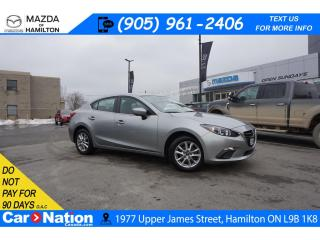 Used 2016 Mazda MAZDA3 GS | REAR CAM | HEATED SEATS | ALLOYS | BLUETOOTH for sale in Hamilton, ON