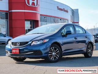 Used 2013 Honda Civic LX--Heated Seats--Bluetooth for sale in Milton, ON