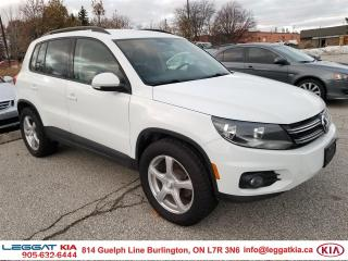Used 2016 Volkswagen Tiguan Trendline for sale in Burlington, ON