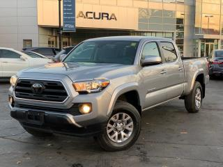 Used 2018 Toyota Tacoma SR5 DOUBLECAB | NOACCIDENTS | CLOTH | HITCH | V6 | for sale in Burlington, ON