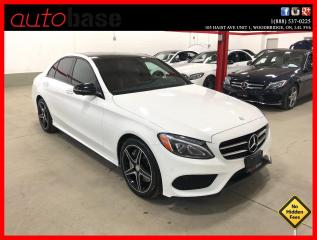 Used 2016 Mercedes-Benz C-Class C300 4MATIC NIGHT PKG PREMIUM PLUS SPORT RED INT! for sale in Vaughan, ON