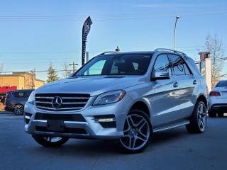 Used 2013 Mercedes-Benz ML-Class 4MATIC 4dr ML 350 BlueTEC for sale in Surrey, BC
