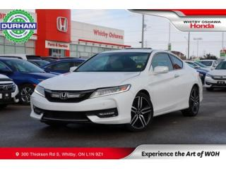 Used 2016 Honda Accord w/Navigation and Honda Sensing for sale in Whitby, ON