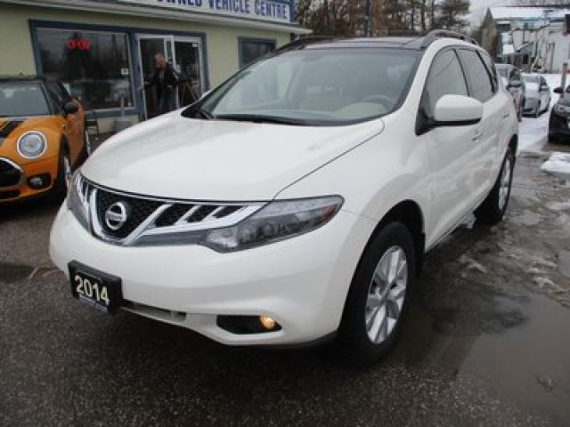 2014 Nissan Murano ALL-WHEEL DRIVE LE EDITION 5 PASSENGER 3.5L - V6.. LEATHER.. HEATED SEATS.. POWER DUAL SUNROOF.. BACK-UP CAMERA.. BOSE AUDIO..