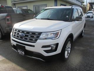 Used 2016 Ford Explorer FOUR-WHEEL DRIVE XLT EDITION 7 PASSENGER 3.5L - V6.. BENCH & THIRD ROW.. NAVIGATION.. LEATHER.. HEATED SEATS.. DUAL SUNROOF.. BACK-UP CAMERA.. for sale in Bradford, ON