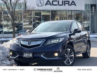 Used 2018 Acura RDX Elite at for sale in Markham, ON
