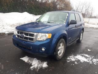 Used 2008 Ford Escape XLT 3.0L Jamais accidenté for sale in Boucherville, QC