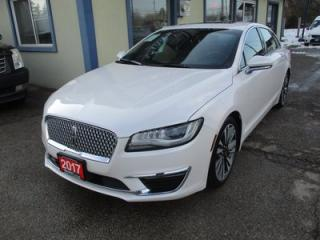 Used 2017 Lincoln MKZ LOADED ALL-WHEEL DRIVE 5 PASSENGER 2.0L - TURBO.. NAVIGATION.. LEATHER.. HEATED SEATS.. POWER SUNROOF.. BACK-UP CAMERA.. BLUETOOTH SYSTEM.. for sale in Uxbridge, ON