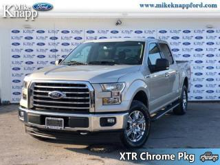 Used 2017 Ford F-150 XLT  - Bluetooth -   A/C for sale in Welland, ON