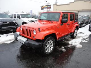 Used 2015 Jeep Wrangler Unlimited Sahara 4X4 Nav Démarreur for sale in Laval, QC