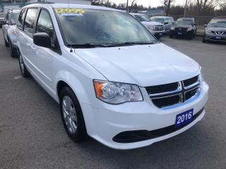 Used 2016 Dodge Grand Caravan SXT for sale in St Catharines, ON