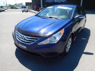 Used 2014 Hyundai Sonata GL,A/C,CRUISE,BLUETOOTH,BANC CHAUFFANT for sale in Mirabel, QC