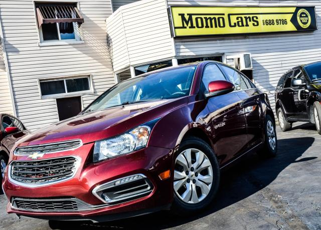2015 Chevrolet Cruze BACK UP CAM | BLUETOOTH | FUEL EFFICIENT | CLEAN