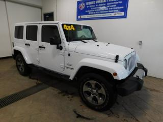 Used 2018 Jeep Wrangler JK Unlimited Sahara LEATHER for sale in Listowel, ON