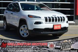 Used 2015 Jeep Cherokee Sport / 4X4 / Cold Weather Group ... for sale in Guelph, ON