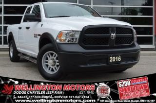 Used 2016 RAM 1500 Tradesman / No Accidents / Warranty / Low K's for sale in Guelph, ON