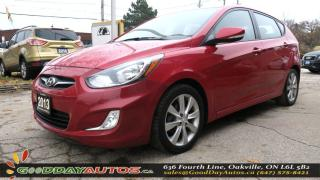 Used 2013 Hyundai Accent GLS|LOW KM|2YR WARRANTY|NO ACCIDENT|SUNROOF|BT for sale in Oakville, ON