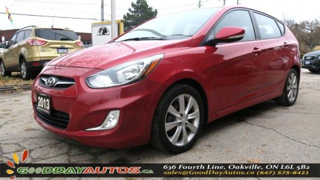 2013 Hyundai Accent GLS|LOW KM|2YR WARRANTY|NO ACCIDENT|SUNROOF|BT