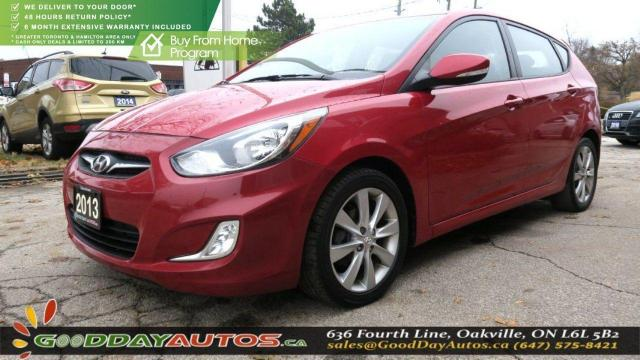 2013 Hyundai Accent GLS|LOW KM|NO ACCIDENT|SUNROOF|BT