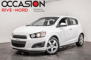 Used 2013 Chevrolet Sonic LT MAGS+BLUETOOTH+SIEGES.CHAUFFANTS for sale in Boisbriand, QC