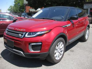 Used 2016 Land Rover Range Rover Evoque SE Auto 4WD AC Nav Reverse Cam Htd Leather Sunroof for sale in Ottawa, ON