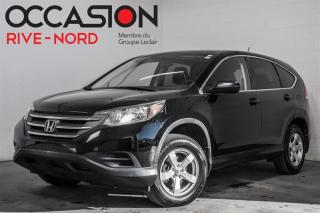 Used 2013 Honda CR-V LX AWD MAGS+SIEGES.CHAUFFANTS+CAM.RECUL for sale in Boisbriand, QC