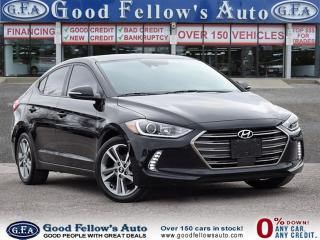 Used 2018 Hyundai Elantra GLS MODEL, LEATHER SEATS, SUNROOF, DRIVER ASSIST for sale in Toronto, ON