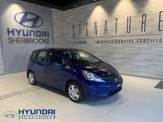 Used 2013 Honda Fit LX+AIR CLIM+BLUETOOTH+CRUISE+MANUELLE for sale in Sherbrooke, QC