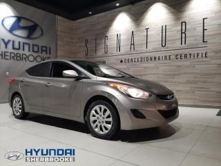 Used 2013 Hyundai Elantra GL+A/C+BANCS CHAUFF+BLUETOOTH+CRUISE for sale in Sherbrooke, QC