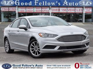Used 2017 Ford Fusion SE MODEL, REARVIEW CAMERA, POWER SEATS for sale in Toronto, ON