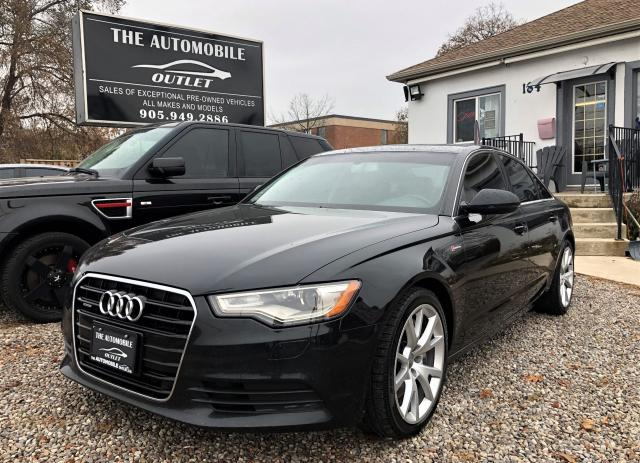 2012 Audi A6 3.0T Premium AWD NAVI LEATHER SUNROF NO ACCIDENT