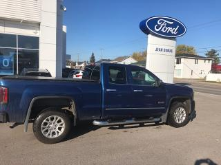 Used 2016 GMC Sierra 1500 SLE cabine double 4RM, 143,5 po for sale in Roberval, QC