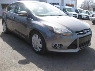 Used 2012 Ford Focus Titanium Hatch 2.0L 4cyl Auto AC Cruise PL PM PW for sale in Ottawa, ON