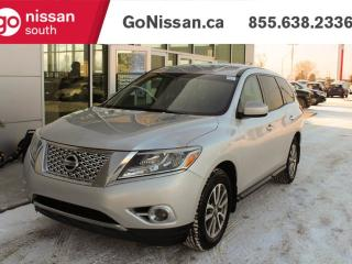 Used 2014 Nissan Pathfinder PUSH STAT BLUETOOTH 7 SEATER for sale in Edmonton, AB