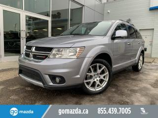 Used 2015 Dodge Journey R/T LEATHER SUNROOF 7PASS DVD NAV for sale in Edmonton, AB