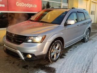 Used 2017 Dodge Journey Crossroad AWD / Garmin Navigation for sale in Edmonton, AB