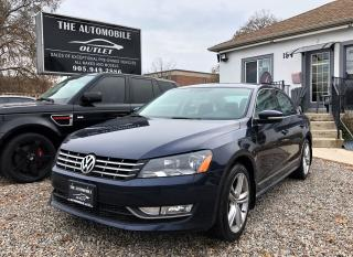 Used 2014 Volkswagen Passat Highline DIESEL TDI LOADED NAVI NO ACCIDENT for sale in Mississauga, ON